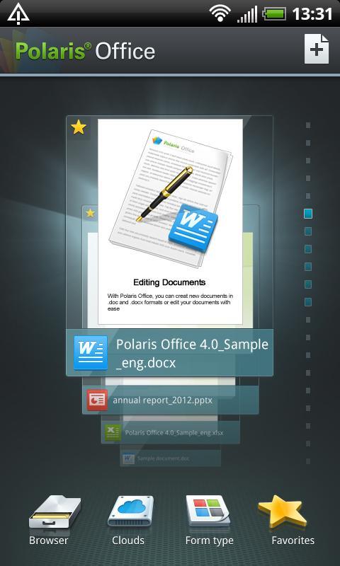 Polaris Office screenshot 1