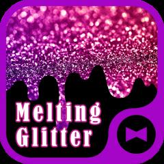 wallpaper melting glitter icon