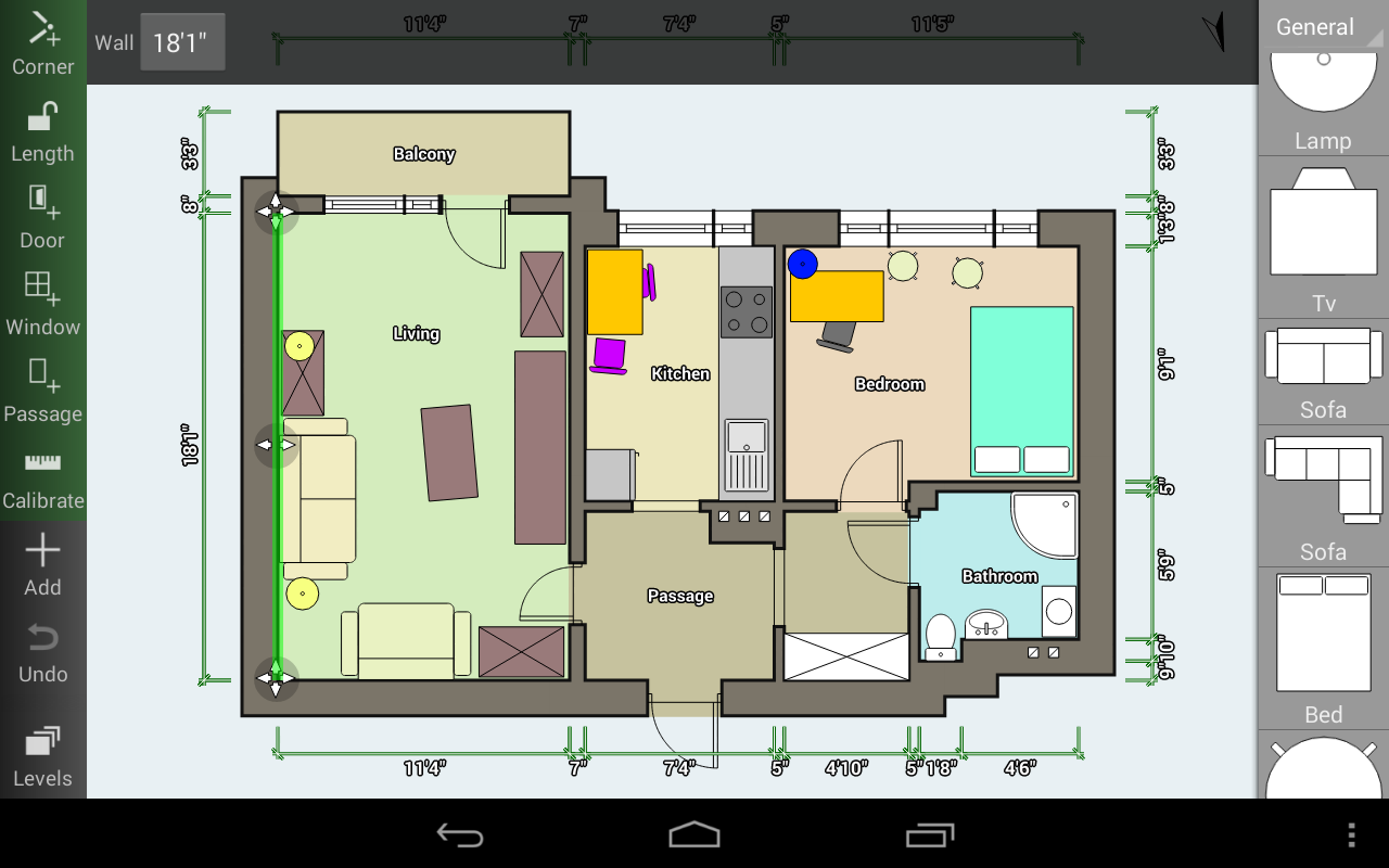 Floor Plan Creator screenshot 1