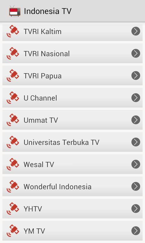 Watch tvri indonesia online dating