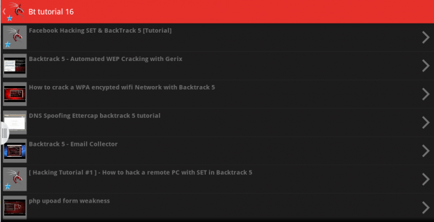 app backtrack 5 video tutorial 1 0 Download APK for Android - Aptoide