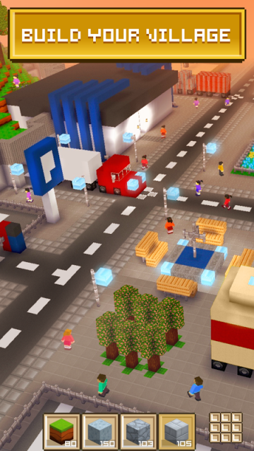 Block craft 3d download apk for android aptoide for Crafting and building app store
