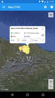 Earthquake Plus - Map, Info, Alerts & News screenshot 7