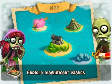 Zombie Castaways screenshot 1