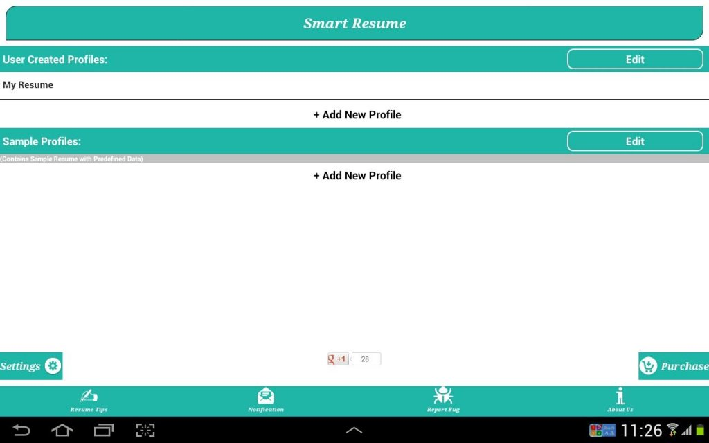 Smart resume builder cv free download apk for android Rate your builder
