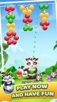 Raccoon Bubbles Screen
