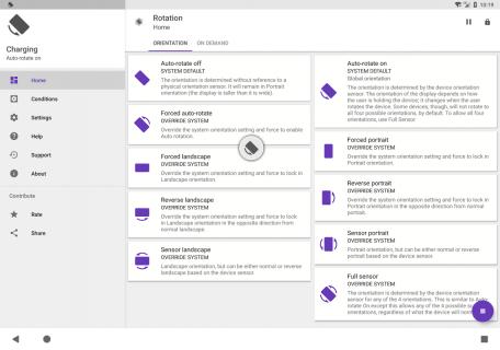 Rotation - Orientation Manager screenshot 2