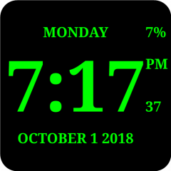 Digital Clock Live Wallpaper-7 2 7 Download APK for Android