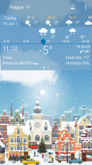 awesome weather yowindow live wallpaper widgets screenshot 4