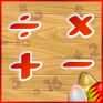 easter maths puzzle icon