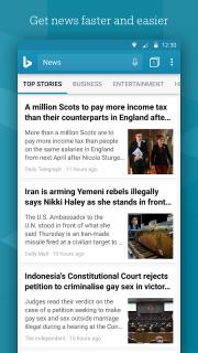 Microsoft Bing Search screenshot 3