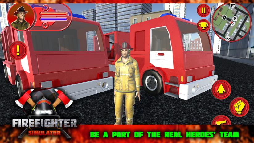 Firefighter Simulator 1 0 0 APK دانلود برای اندروید - Aptoide