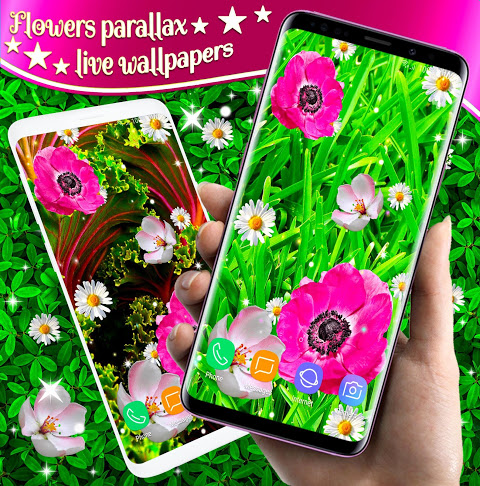 3D Flowers Parallax Live Wallpapers 4.2.12 Download APK for