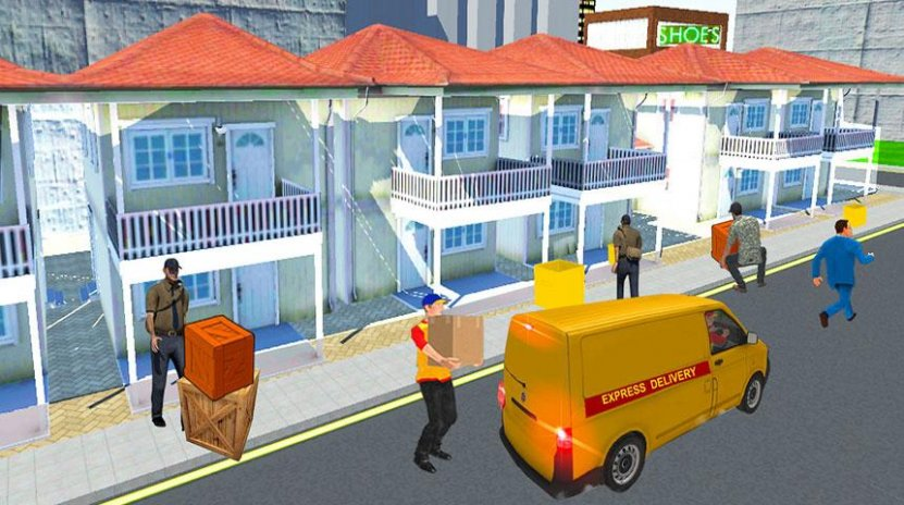 postman delivery truck driver 1 Download APK for Android - Aptoide