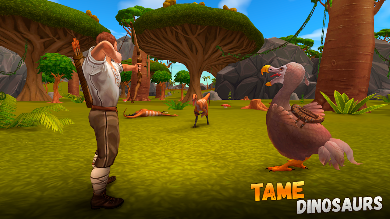 Jurassic Survival Island 2: Dinosaurs & Craft screenshot 1