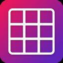Grid Photo Maker for Instagram 9 Grid Giant Square