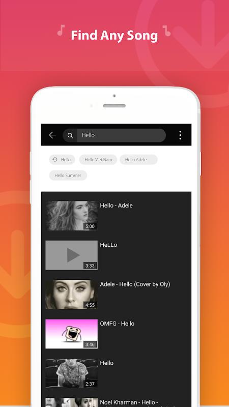 AZ Mp3 Music Downloader screenshot 2