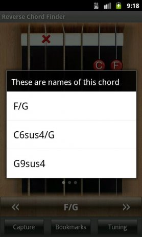 Reverse Chord Finder Free 1.2 Download APK for Android - Aptoide