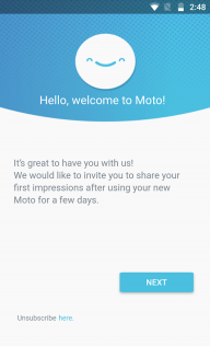 Motorola Notifications screenshot 2