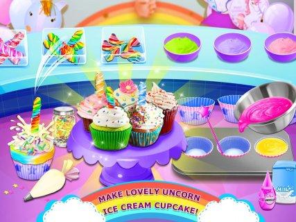 Rainbow Ice Cream - Unicorn Party Food Maker screenshot 3
