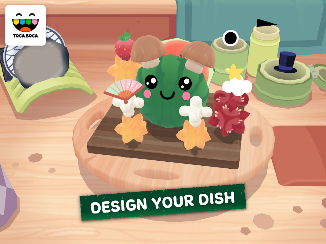 Toca Kitchen Sushi screenshot 4