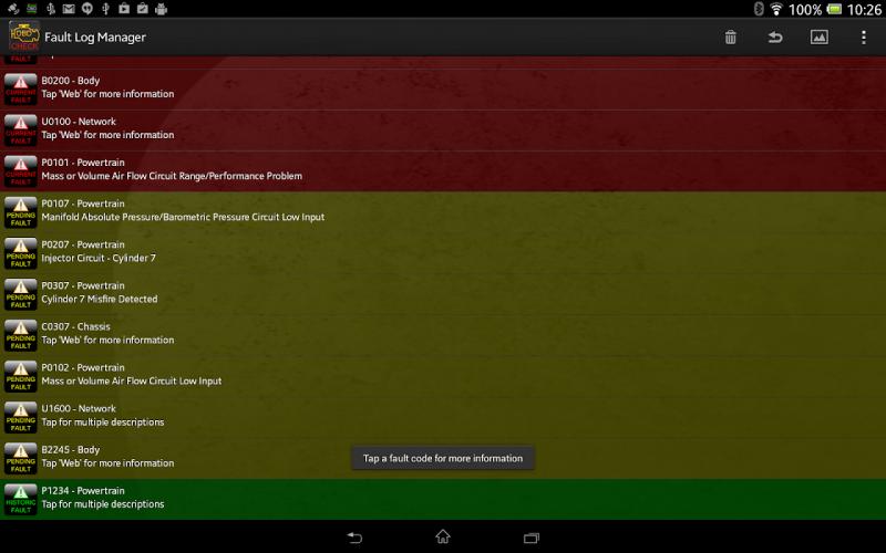 Torque Pro (OBD2 / Carro) screenshot 16