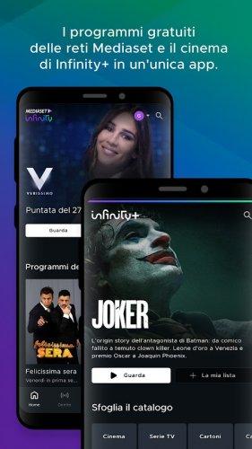 Mediaset Infinity TV screenshot 10
