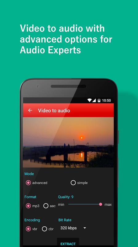 Video to  MP3 Converter screenshot 4