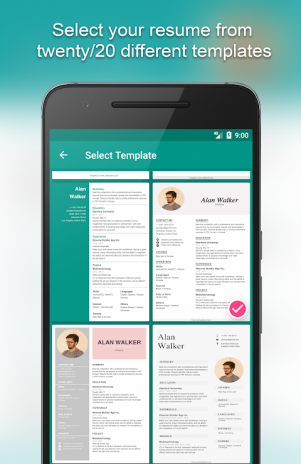 Resume Builder App Free 8541 Free Download Apk For Android Aptoide - Mobile-resume-builder