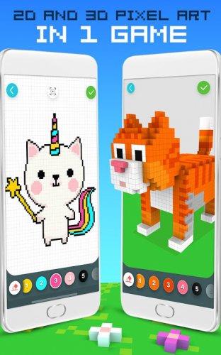 Sayiya Gore Gokkusagi Rengi 2d Ve 3d Piksel Sanat 1 6 1 Android