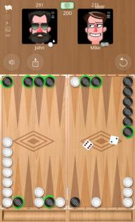 Backgammon Online screenshot 1