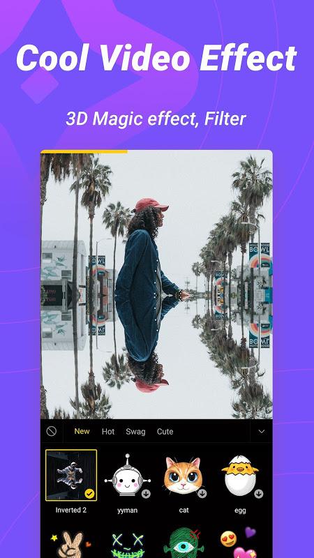 Biugo - Vídeos Curtos Com Mágica e Comunidade screenshot 2