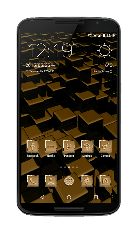 24K Icon Pack screenshot 2