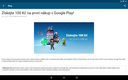 Aplikace od O2 screenshot 11