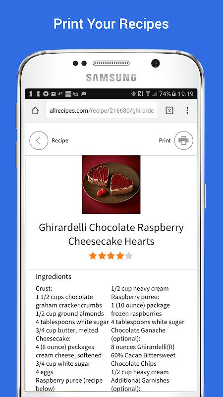 Samsung Print Service Plugin screenshot 1