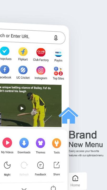 UC Browser Mini - Smooth screenshot 2