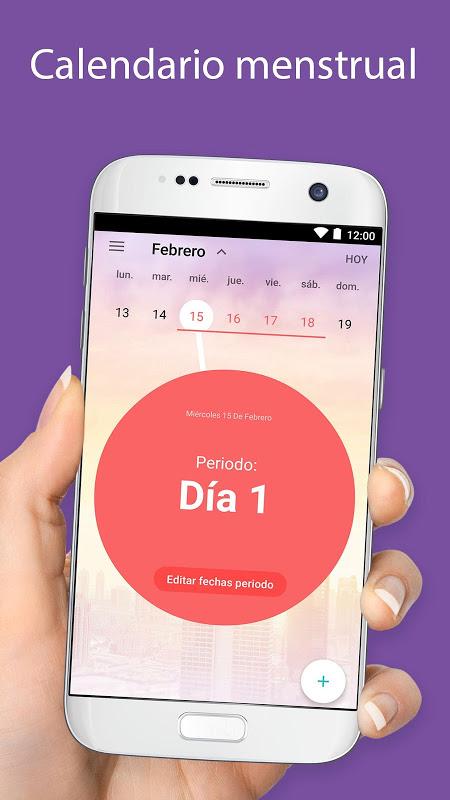 Aplicacion para controlar mi periodo menstrual