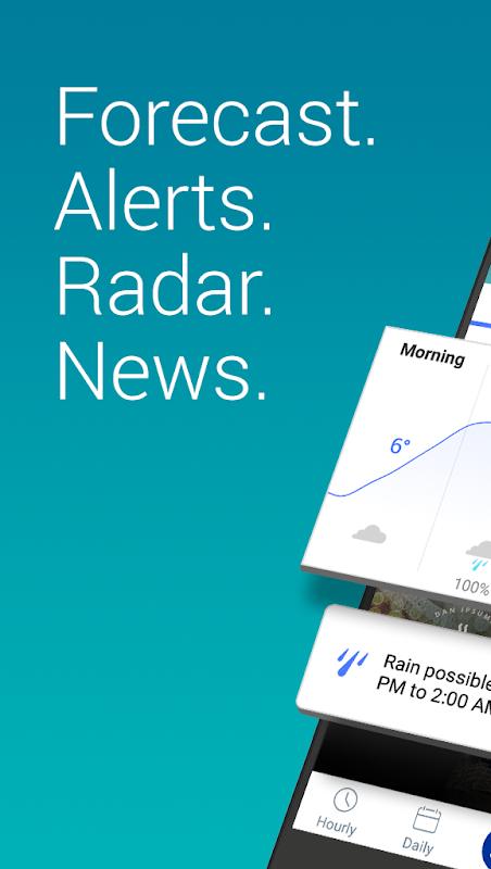 Weather: Forecast & Radar Maps screenshot 1
