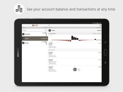 UBS Mobile Banking: e-banking for on the go screenshot 10