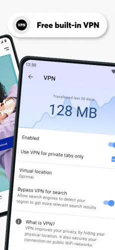 Opera Browser: Fast & Private screenshot 20