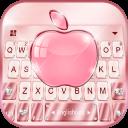 Rose Gold Phone8 Keyboard Theme