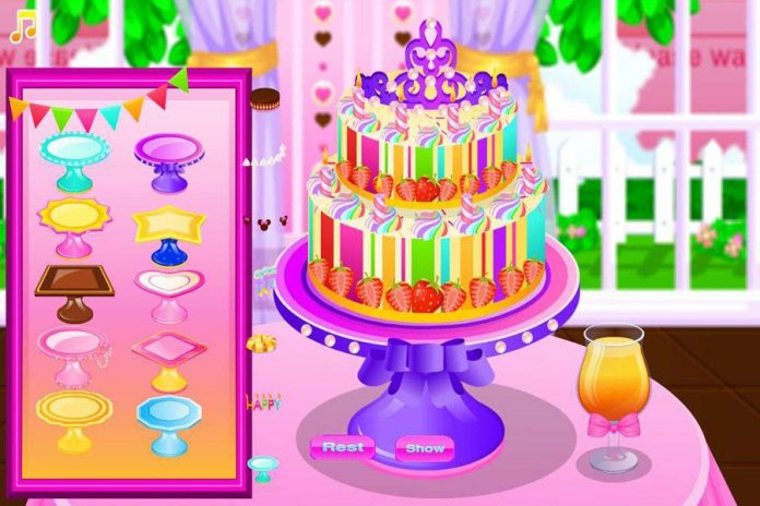 Cake Maker Cooking Game Screenshot 1