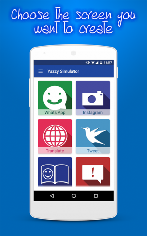 تحميل APK لأندرويد - آبتويد Yazzy Simulator (Fake chat)1 06 0