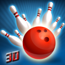 Spin Bowling Alley King 3D: Stars Strike Challenge