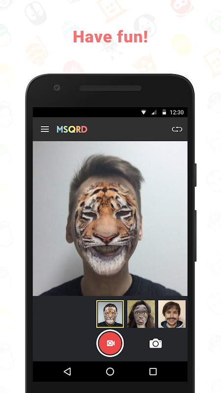 MSQRD screenshot 2