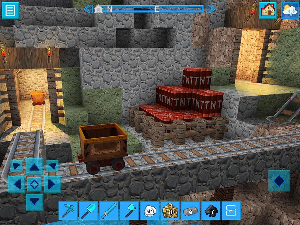 DinoCraft Survive & Craft Pocket Edition screenshot 2