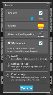 Crosswords - Spanish version (Crucigramas) screenshot 7