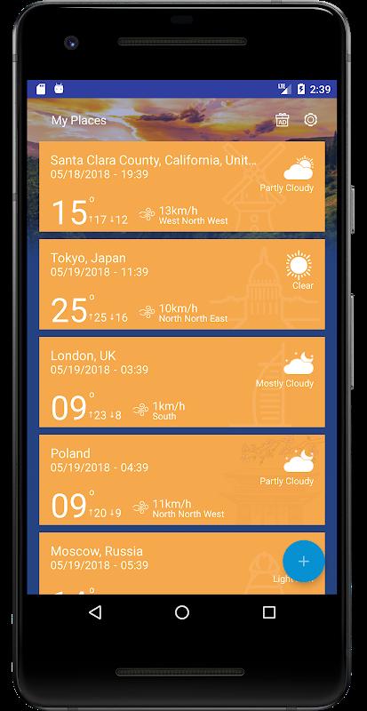 Weather Forecast Pro: Timeline, Radar, MoonView screenshot 1