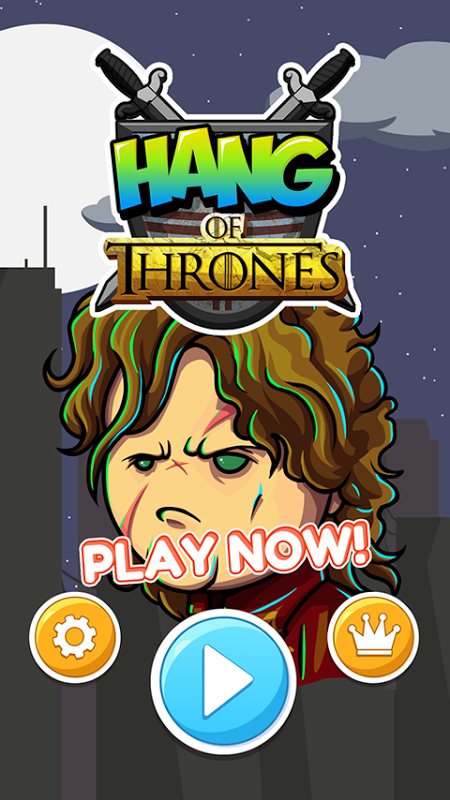 TYRION'S HANG OF THRONES GAME screenshot 1