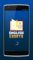 English Essays Collection Screen
